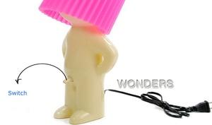 Image 2 - いたずら少年 Mr. p 少し内気男創造ランプ小さなナイトライト、ナイトライト家の装飾素敵なギフト