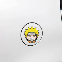 Aliauto Car-styling Cartoon Naruto Car Fuel Cap Sticker and Decal for Toyota Peugeot Ford Focus Renault Bmw Audi Q3 Q5 Vw Skoda