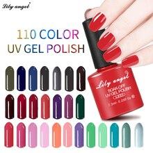 1pcs Beautiful Neon Lilyangel Nails 7.3ML UV Nail Gel Polish Professional Long-lasting Nail Gel Varnish for Nail Art Design25-48