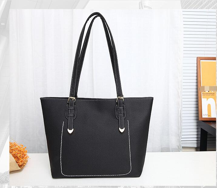the trend of high quality fashion handbags handbag PU 2017 bulk totes simple all-match Wome Bag