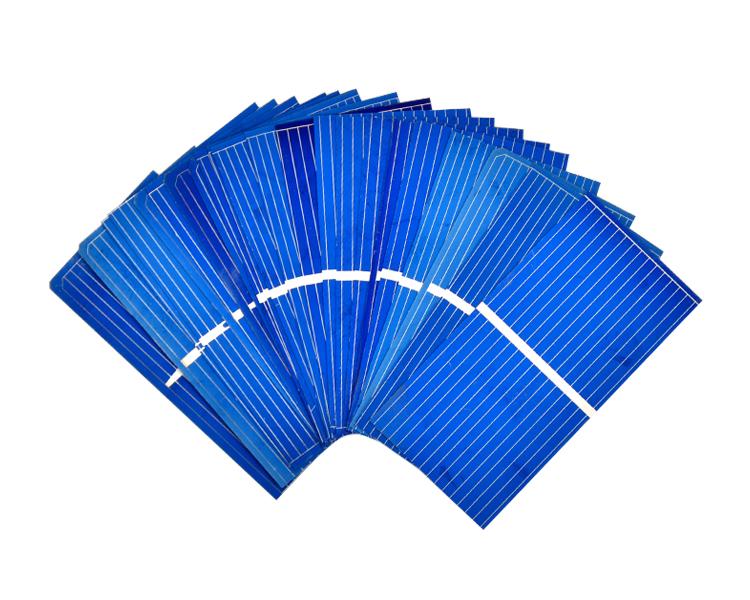 100Pcs Solar Panel China Painel Solar Polycrystalline Silicon Placa Solar DIY Panneau Solaire Solar Cells 52x26MM 0.45V 0.25W 6