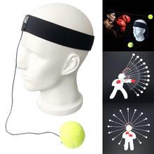 Тренировки по борьбе мяч бокс реакционный мяч 6,3 см головной убор боксерский черный 0,1 кг 4 м скоростной мяч