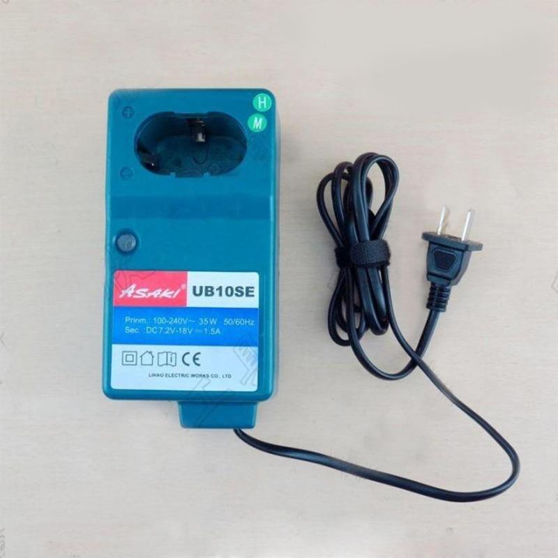 Sostituzione caricabatterie Asaki Boutique per Hitachi UC18YG, Makita DC1414 7.2V 9.6V 12V 14.4V 18V NI-MH NI-CD, di alta qualità!