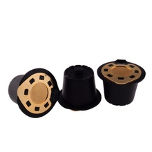 Coffee Capsule Filter Silver Refillable Reusable Compatible Nespresso Soft Capsules Baskets Sliver & Gold Coffee Accessories цена