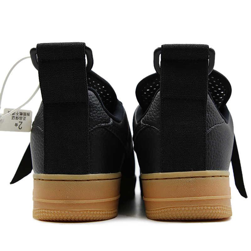 NIKE Air Force1 AF1 femmes chaussures de skate Absorbant les chocs baskets # AO1531
