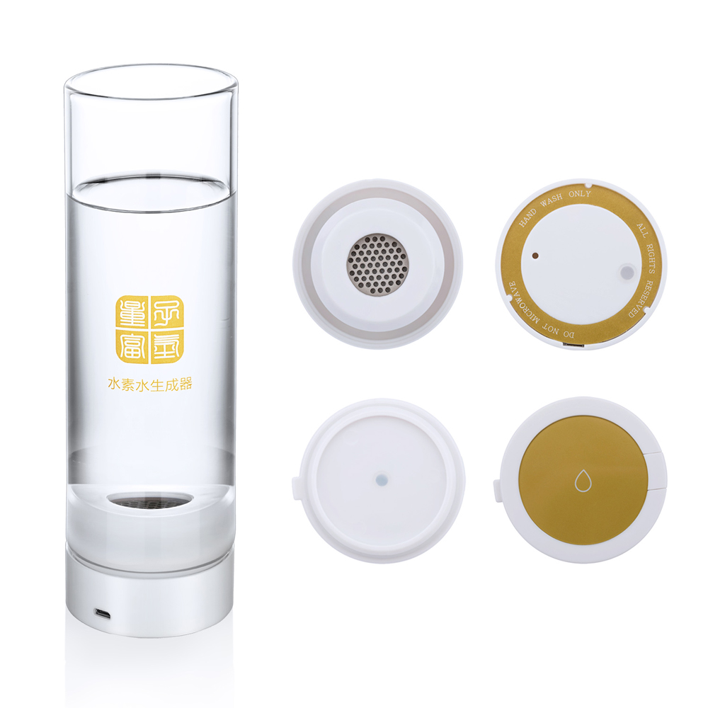 Quantum cup Hydrogen water cup Wireless transmission touch switch Hydrogen and oxygen separation H2 generator water cup