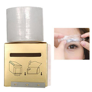 Image 2 - New 1 box Microblading Clear Plastic Wrap Preservative Film for Permanent Makeup Tattoo Eyebrow Tattoo Accessories