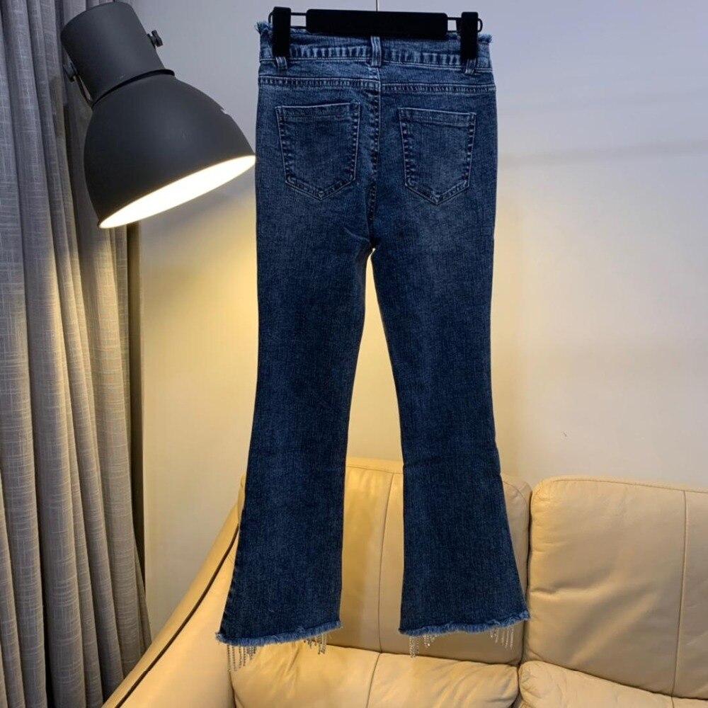 Con 19 Muy Azul Vaqueros Y 0312 De Cintura Primavera Especial Diseño Verano Super qrICxF6rw