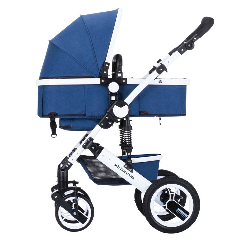 High Landscape New Style Unisex baby stroller light umbrella car can sit can lie ultra-light folding portable on the airplane 2018 new style baby carriage baby stroller light folding umbrella car can sit can lie ultra light portable on the airplane
