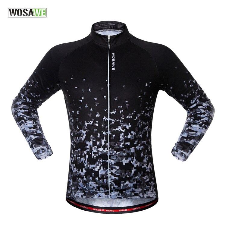 2017 new fleece long sleeve cycling jerseys Bike riding Mountain bicycle clothes women