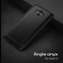 Ringkeオニキスhuawei社メイト 10 ケース柔軟なtpuカバーフィットケーススキン軍事グレード保護用メイト 10