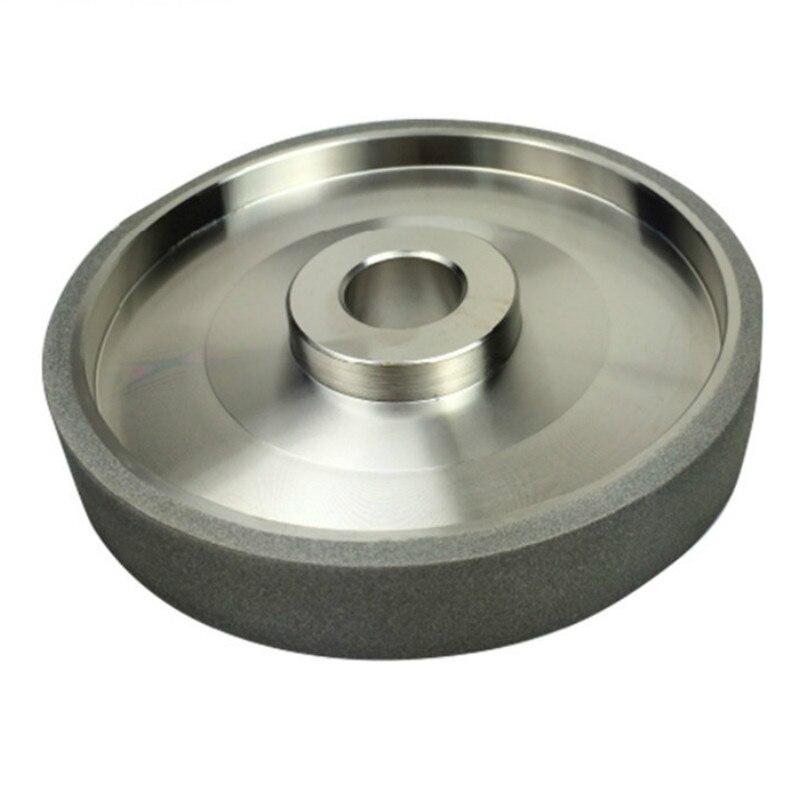 150 Grit embout de meulage en carbone meules diamant Diamètre 150mm acier à haute vitesse Pour Le Métal pierre Puissance De Meulage Outil h5