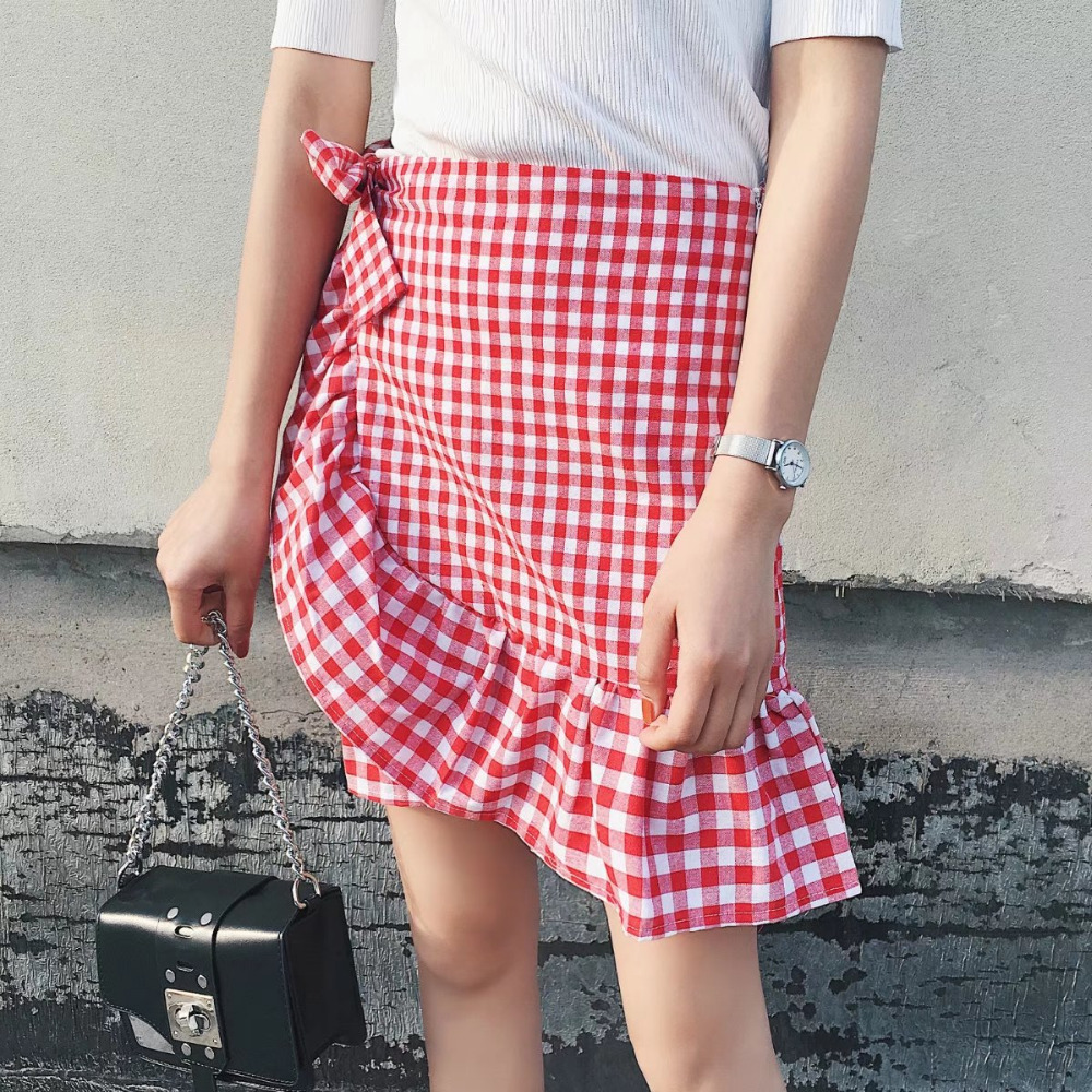 Линия пояса юбки