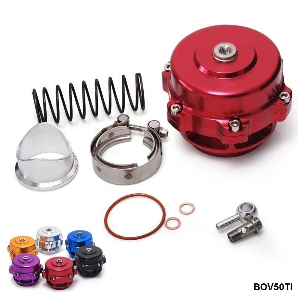 Universal Jdm 50mm V Band Blow Off Valve BOV Q Typer w/ Weld On Aluminum Flange EP-BOV50TI brand new high quality bov turbo blow off valve for hks sqv4 ssqv4 better performance than sqv3 fast delivery