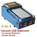 Construir-na bomba de vácuo de ar máquina separador de lcd para samsung s6 borda borda mais S7 Nota 4 borda curvo-screen display LCD reparação