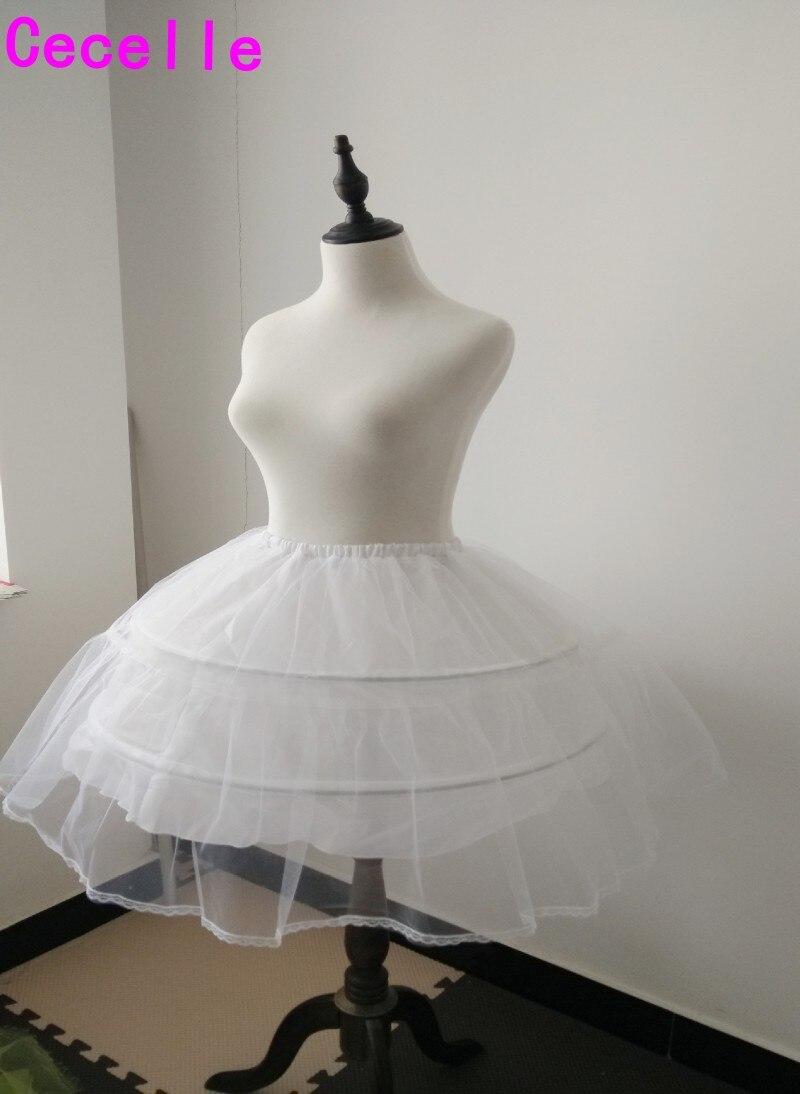 Adult Short cosplay lolita Petticoat For Wedding Prom Dresses Wedding Accessories
