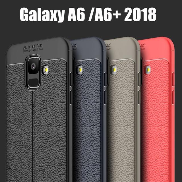 sports shoes 7fb67 ebce5 US $2.99 40% OFF|Aliexpress.com : Buy soft cases for Samsung Galaxy A6 2018  best cover tough anti shock business TPU silicone case for Samsung Galaxy  ...