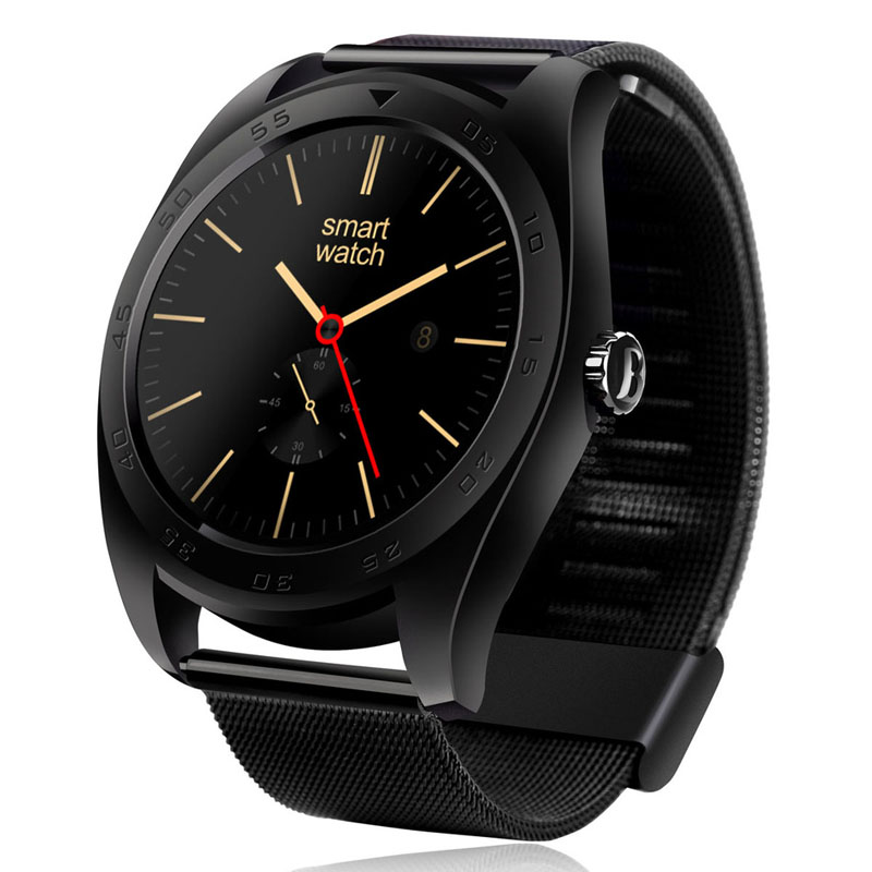 K89 Smart Watch IPS Round Screen Smartwatch Sync Call Messages Heart Rate Monitor Bluetooth Watch for