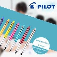 Japan Pilot Dr.Grip 4+1 Multi Function Pen Ballpoint pen 0.7mm Black, Blue, Green, Red + 1 Mechanical Pencil 0.5mm BKHDF 1SR