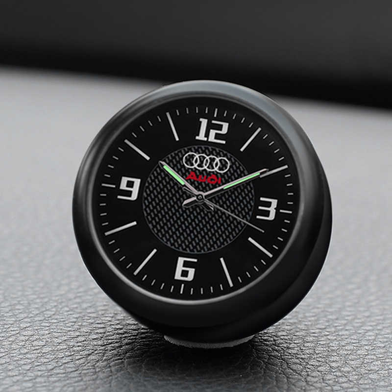 Car Quartz Clock Socket Clock Car Interior Fragrance Electronics For Audi  A6L A4L Q5 A3 A5 A7 A8 Q7 Q3 RS  Clock Decoration