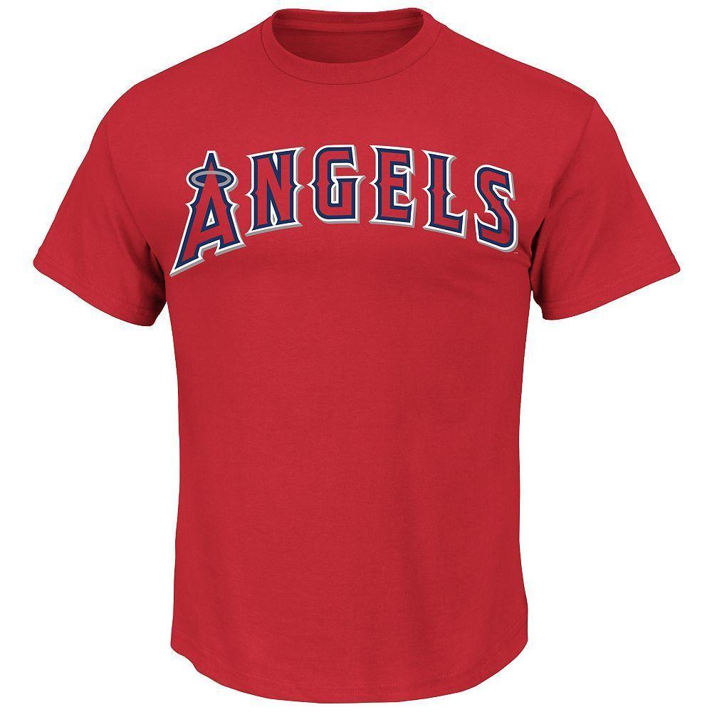 Detalle Comentarios Preguntas sobre Los Angeles Angels majestuoso algodón  para hombre Camiseta de béisbol nuevo rojo m5300 camiseta Tops camiseta  divertida ... 33e192a8f23b8
