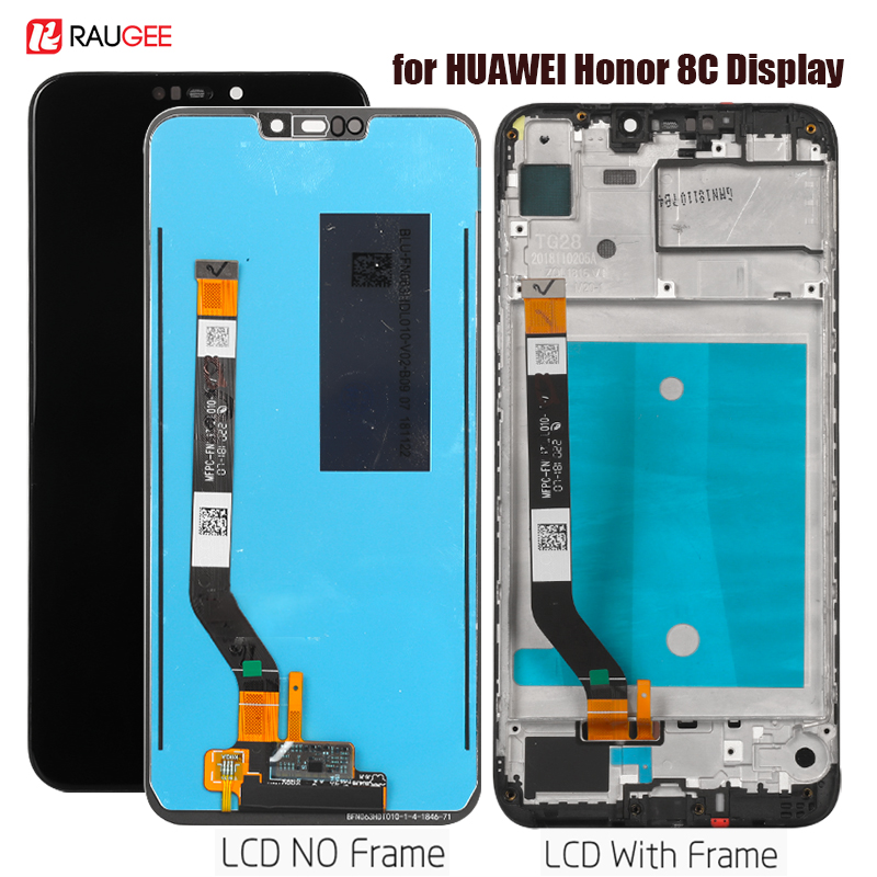 Display For Honor 8C BKK-LX21,LX1 Lcd Display Touch Screen Assembly Replacement For Honor 8 C BKK-AL10 Display Tested Lcd Screen