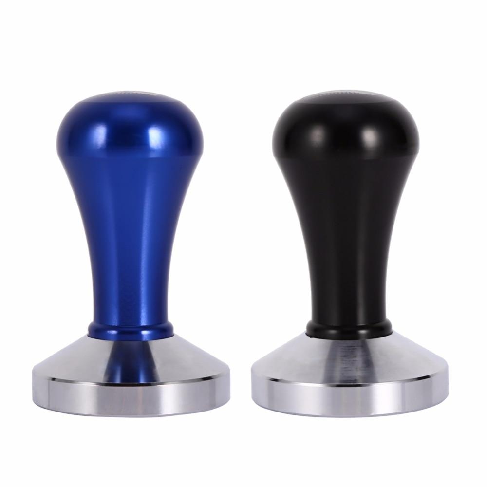 stainless steel Barista espresso coffee pressure powder hammer Maker Grinder pressure bar Handmade 57.5mm Base Press