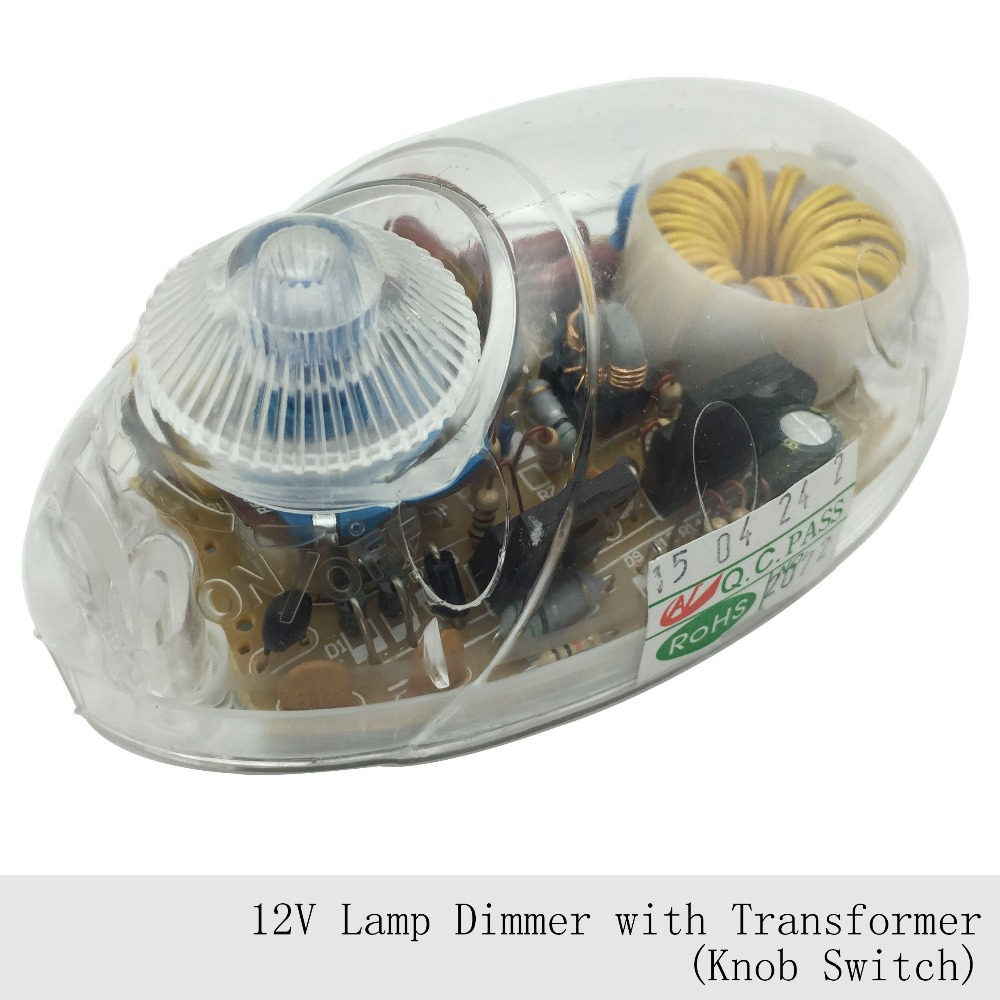 1PC 12V Lamp Dimmer Switch Floor Light Table Lamp Transformer Dimming Switch  Good CE power converter G4 Halogen Lamp Beads - Halogen Floor Lamp Dimmer Switch Promotion-Shop For Promotional
