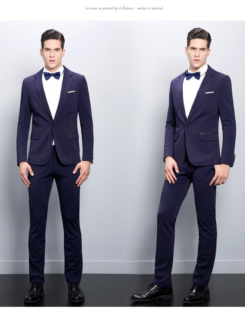 7ae563e2ddbe1 2019 nueva llegada Mens chaqueta trajes para hombres esmoquin fiesta de  moda trajes para hombres Masculino (chaqueta + Pantalones) personalizado en  Trajes ...