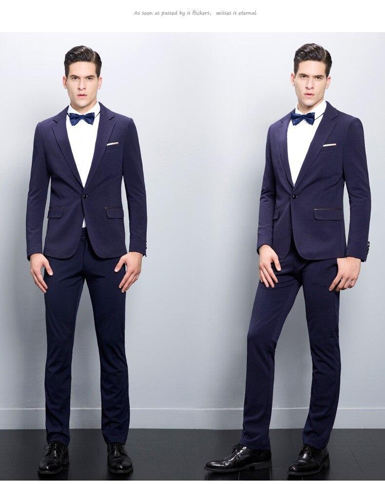 19d232c7ea726 2019 nueva llegada Mens chaqueta trajes para hombres esmoquin fiesta de  moda trajes para hombres Masculino (chaqueta + Pantalones) personalizado en  Trajes ...