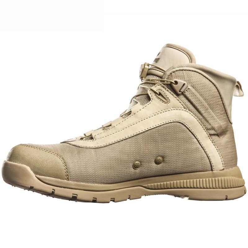 Casual Hout Land Bota Tactische Militaire Laarzen Mannen Combat Mannen Schoenen Werken Duty Veiligheid Schoen Vrouwen Klimmen Mannelijke Leger Botas vrouw