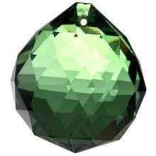 40mm Feng Shui Crystal ball - Green