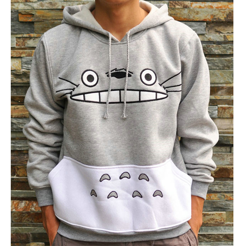 Thicken Cartoon Totoro Hoodie