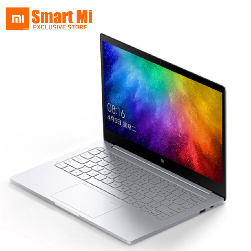 Original 13,3 pulgadas Xiaomi Mi Notebook Air Reconocimiento de huellas dactilares Intel Core i5-7200U CPU Intel Windows 10 Ultrabook Laptop