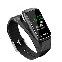 B7 Bluetooth Smart Band Talk Band Heart Rate Monitor Smart Watch Sport Health Smart Bracelet With