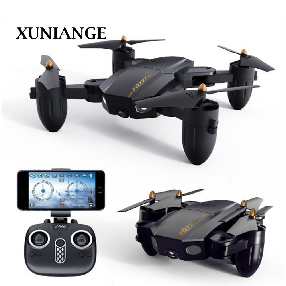 XUNIANG200W new cross-border FQ777 folding drone WIFI aerial shooting fixed-height remote control aircraft toyXUNIANG200W new cross-border FQ777 folding drone WIFI aerial shooting fixed-height remote control aircraft toy