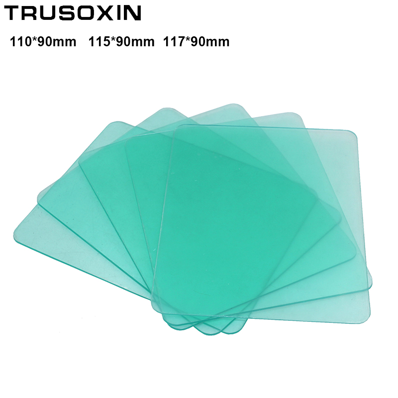 10PCS The Protective Plastic Plate(PC) Of The Auto Darkening Welding Mask/Welding Filter/Welding Helmet