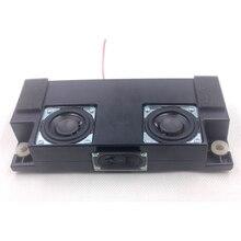 2 pièces 18 W 8 ohms 2 pouces graves haut parleurs Audio woofer et 1 pièces tweeter gamme complète haut parleur HIFI haut parleur pour TV voiture Home cinéma