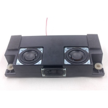 2pcs 18 W 8 ohm 2 inch Bass Audio Speakers woofer and 1pcs tweeter Full Range Speaker HIFI Loudspeaker for TV Car Home Theater