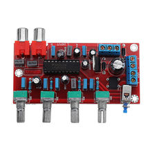 Lm1036 Op-Amp Hifi Amplifier Preamplifier Volume Tone Eq Control Board For Free Accessories
