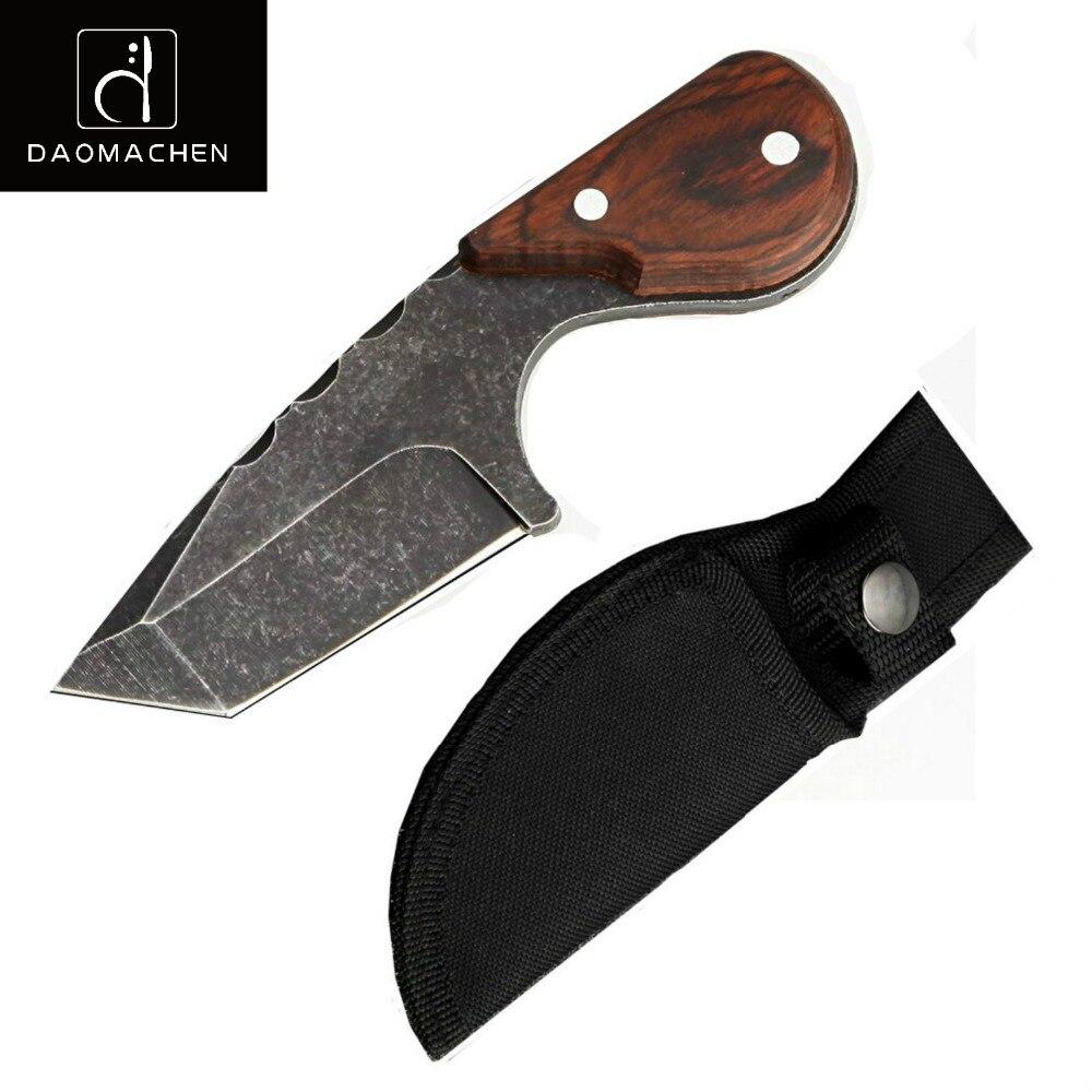 DAOMACHEN Tragbare Multifunktionale Messer Outdoor Überleben Bowie selbstverteidigung Mini Fruit klinge Jagdmesser Kostenloser Versand