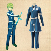 купить New Anime Sword Art Online: Alicization Cosplay Costume Eugeo Uniform Cosplay Costume Halloween Christmas Party Unisex Clothing по цене 3695.23 рублей