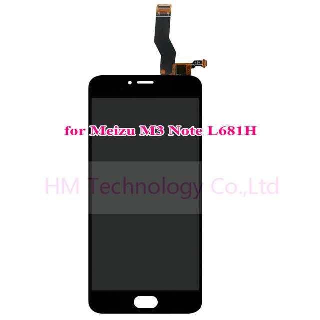 """Meizu L681H Black LCD+TP for Meizu M3 Note L681H 5.5"""" LCD Display and Touch Screen Digitizer Panel Assembly Free Shipping+Tools"""