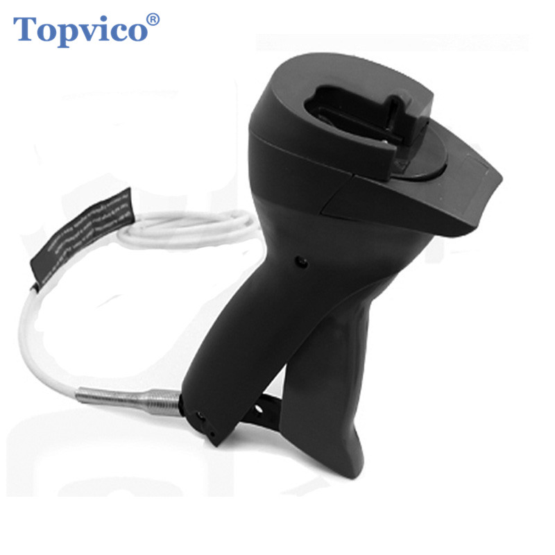 Topvico Exclusive AM Security Tag Removers Detacher Clothes Magnet EAS Magnetic System Security Tag Removal Key Lockpick Gun(China)