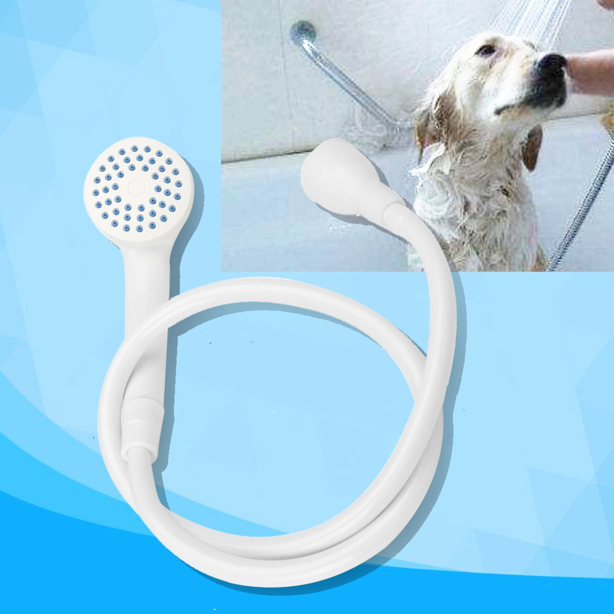 Dog Shower Handheld Protable Spray Hose Bath Tub Sink Faucet ...