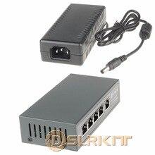 DSLRKIT 15 В 75 Вт 5 Портов Poe Коммутатор Ethernet для Ubiquiti Mikrotik sPoE