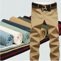 High quality 2015 summer style new cotton washed  pants men's Fashion casual trousers joggers big yards  28-42
