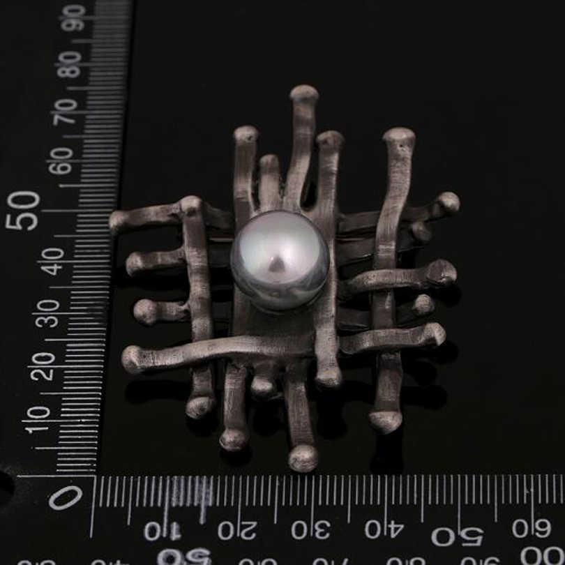 Geometric Irregular Simulasi Pearl Flower Bros Pins untuk Wanita Party Pakaian Aksesoris Bros Vintage Hadiah XZ286