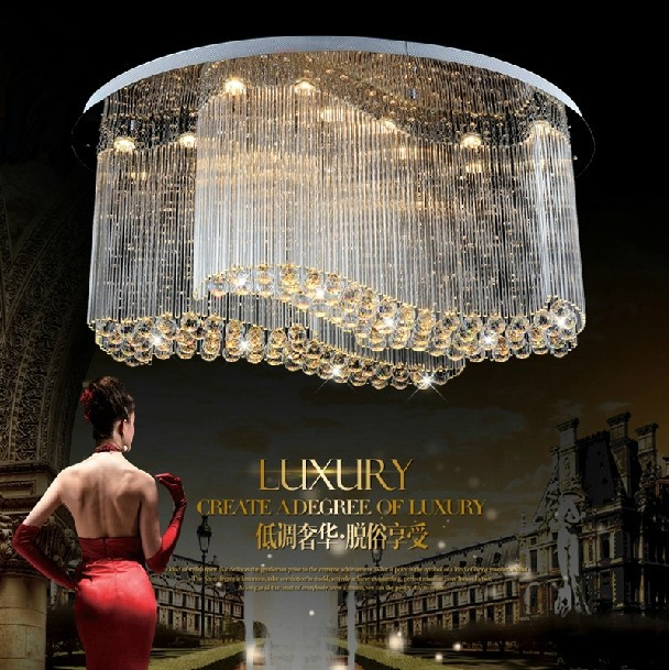 types of home lighting. Free Shipping 2014 New Type Modern Oval Design Led Crystal Home Lighting Large Living Room Lamps Types Of