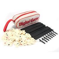 Seyahat Sürüm Klasik Tahta Oyunu Orijinal Dijital Oyun Hızlı Hareket Eden İsrail Mahjong Okey Kiremit Aile Oyunu Dijital Zar